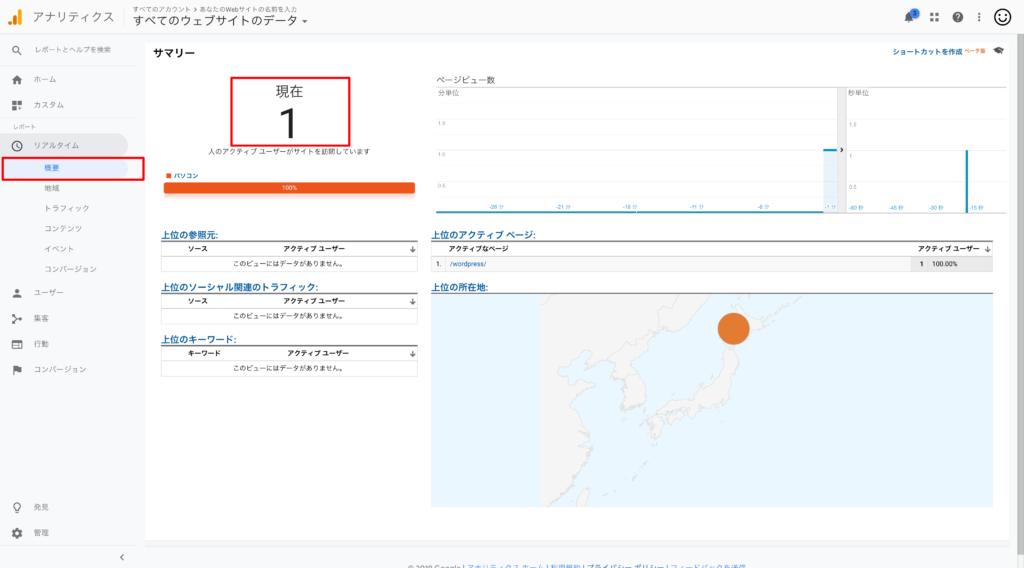 GoogleAnalyticsレポート
